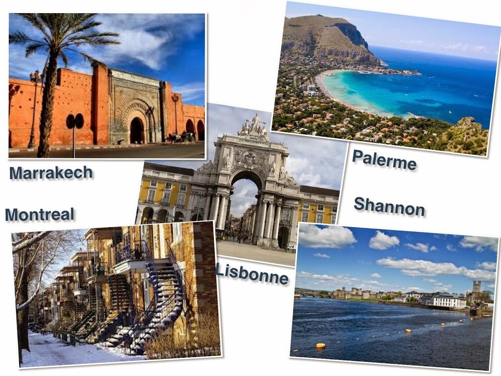 destinations au départ de Nice