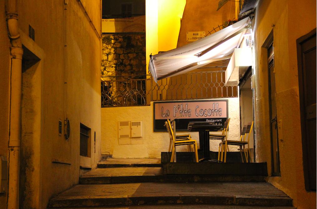 Restaurant Nice La Petite Cocotte