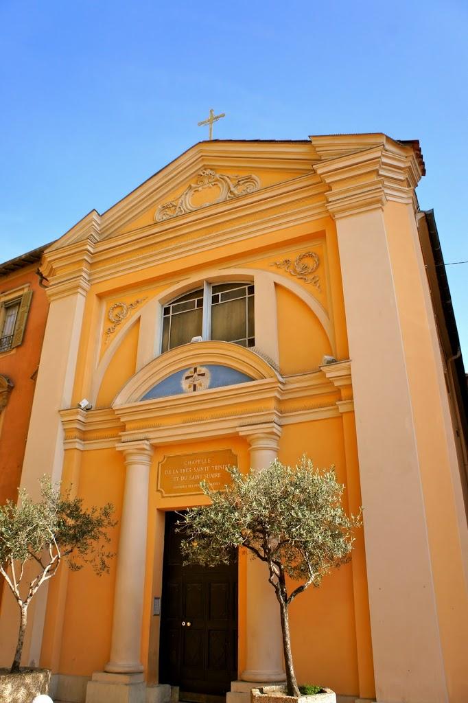 Eglise dans le Vieux-Nice