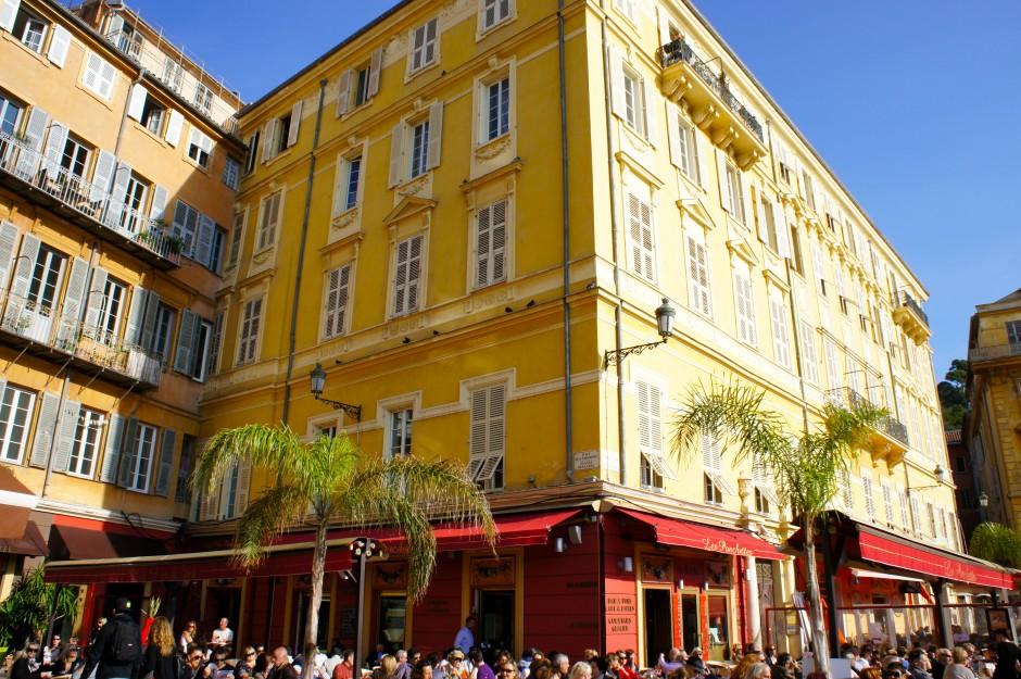 Cours saleya, Nice , ponchettes