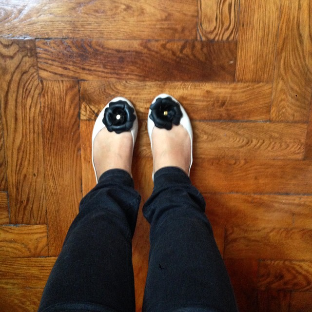 Love mes Melissa ! #shoes #instashoes #shoesaddict #melissa #ballerines