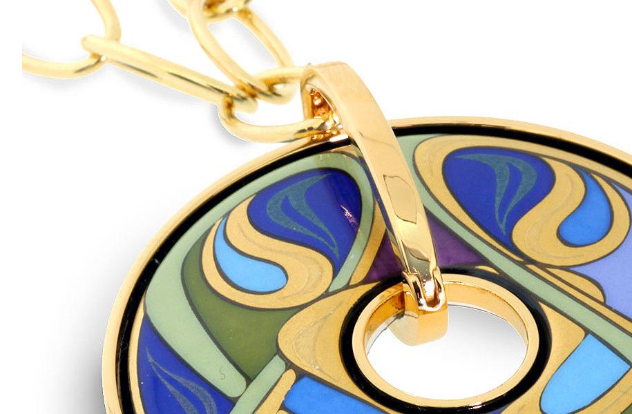Freywille-bijoux-prendentif-monet-email-cannes