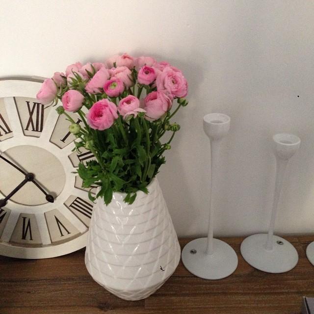 De jolies fleurs du cours Saleya pour mon salon. Je vous souhaite un bon weekend ?