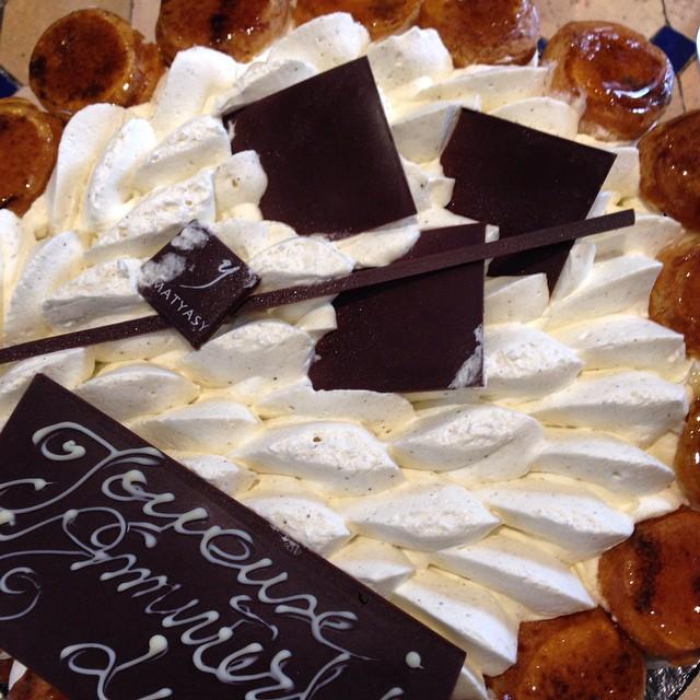 Après les pancakes, le saint honore #teambouboule #toutdanslesfesses