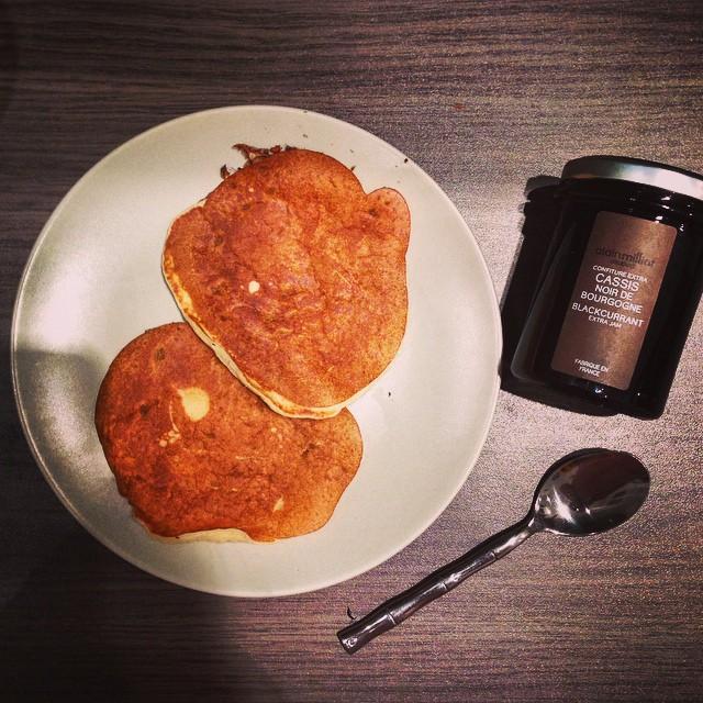 Ce matin, pas envie d'aller à la boulangerie alors pancakes ?