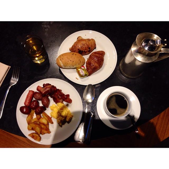 #Superbuffetbreakfast et encore je n'ai pas pris grand chose ?