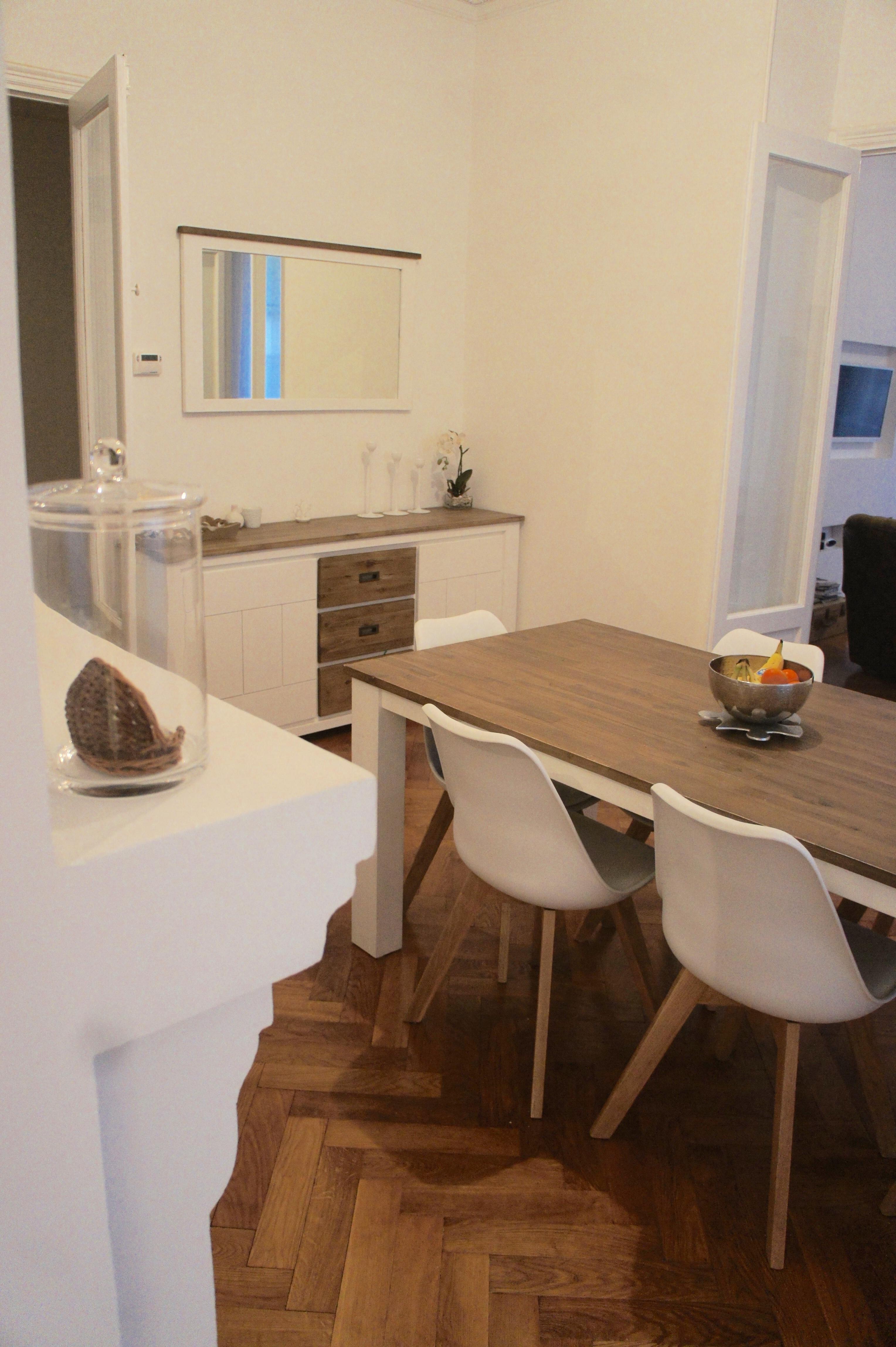 Deco : ma salle à manger en bois - Journal d\'une Niçoise