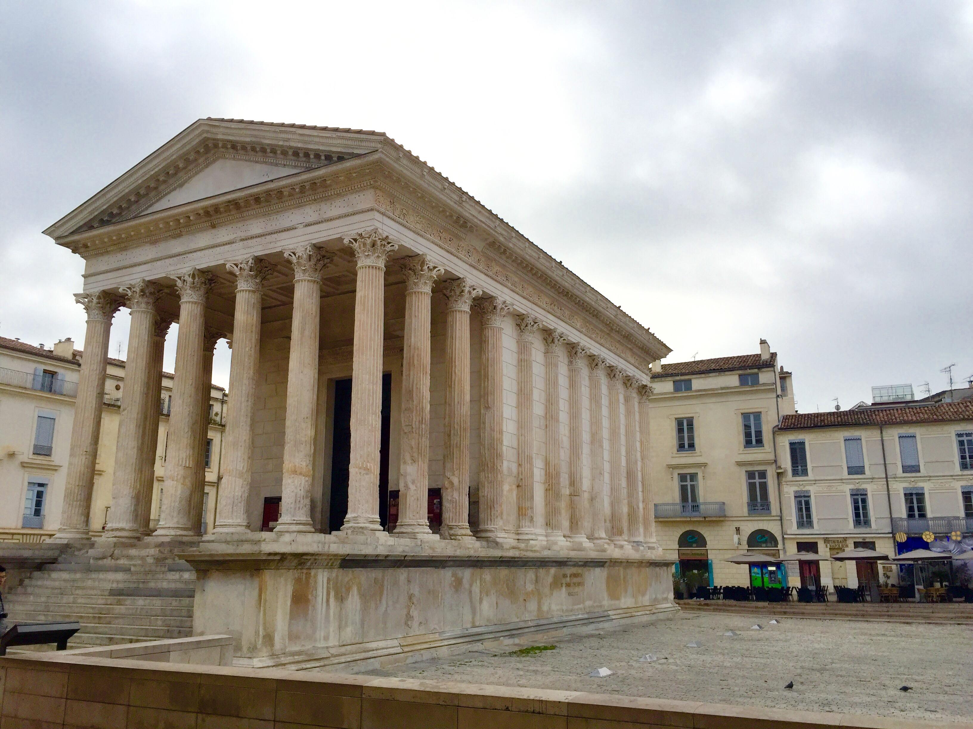 week-end à Nîmes