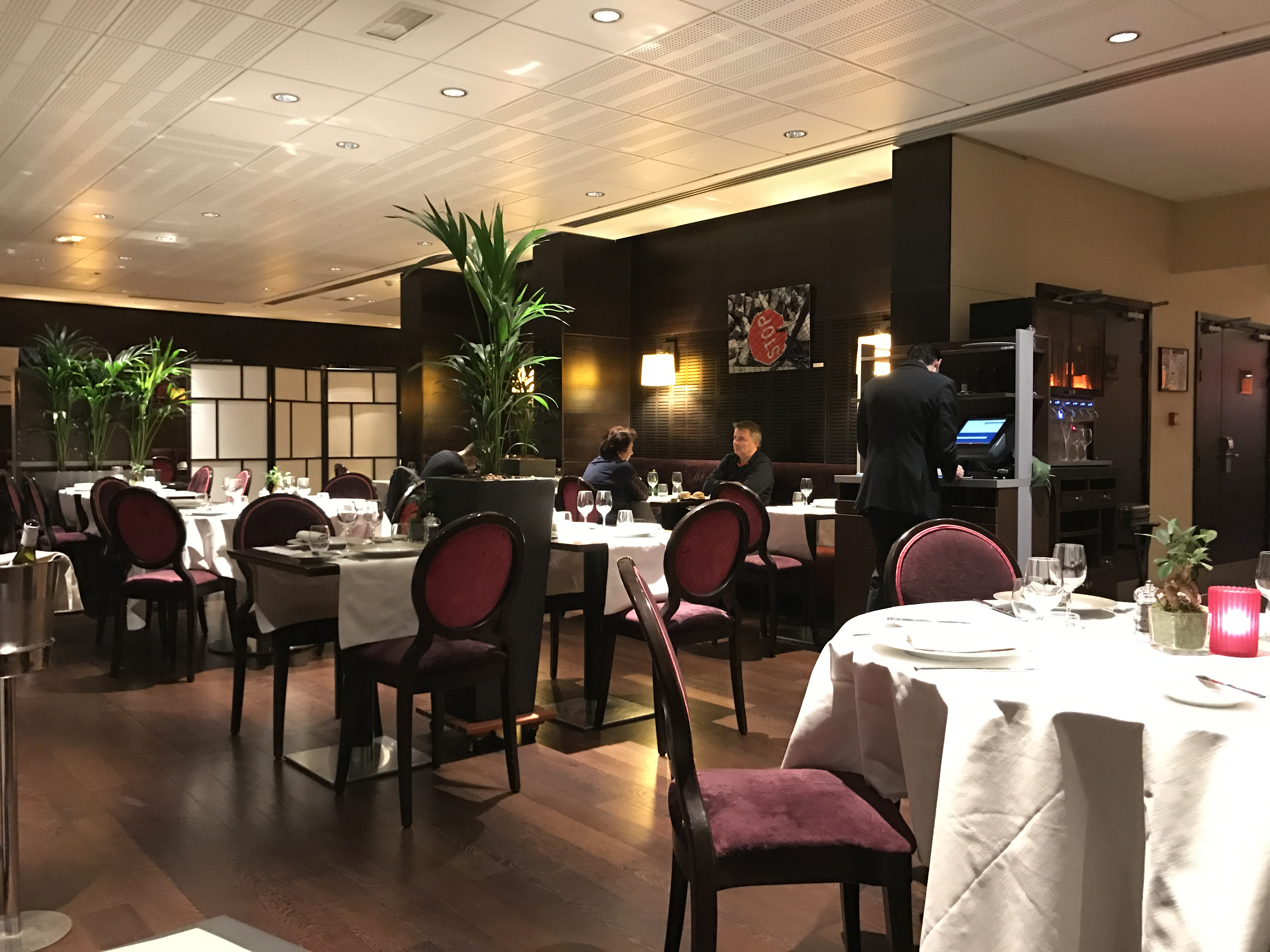 Restaurant AOC hôtel boulogne
