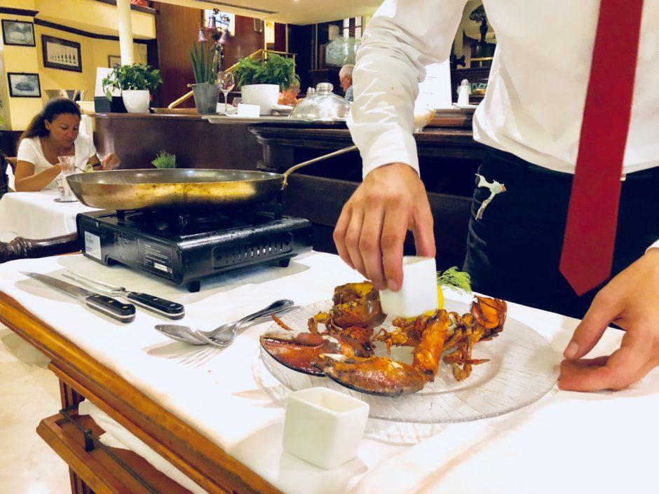 Restaurant le Siècle homard